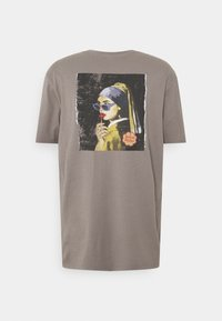 RETHINK Status - OVERSIZED UNISEX - Print T-shirt - stormfront - 1