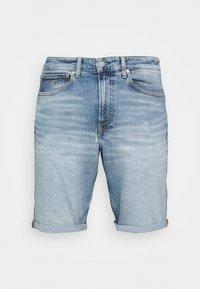 Calvin Klein Jeans - Denim shorts - denim light - 4