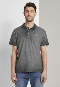 TOM TAILOR - Polo shirt - phanton dark grey - 0