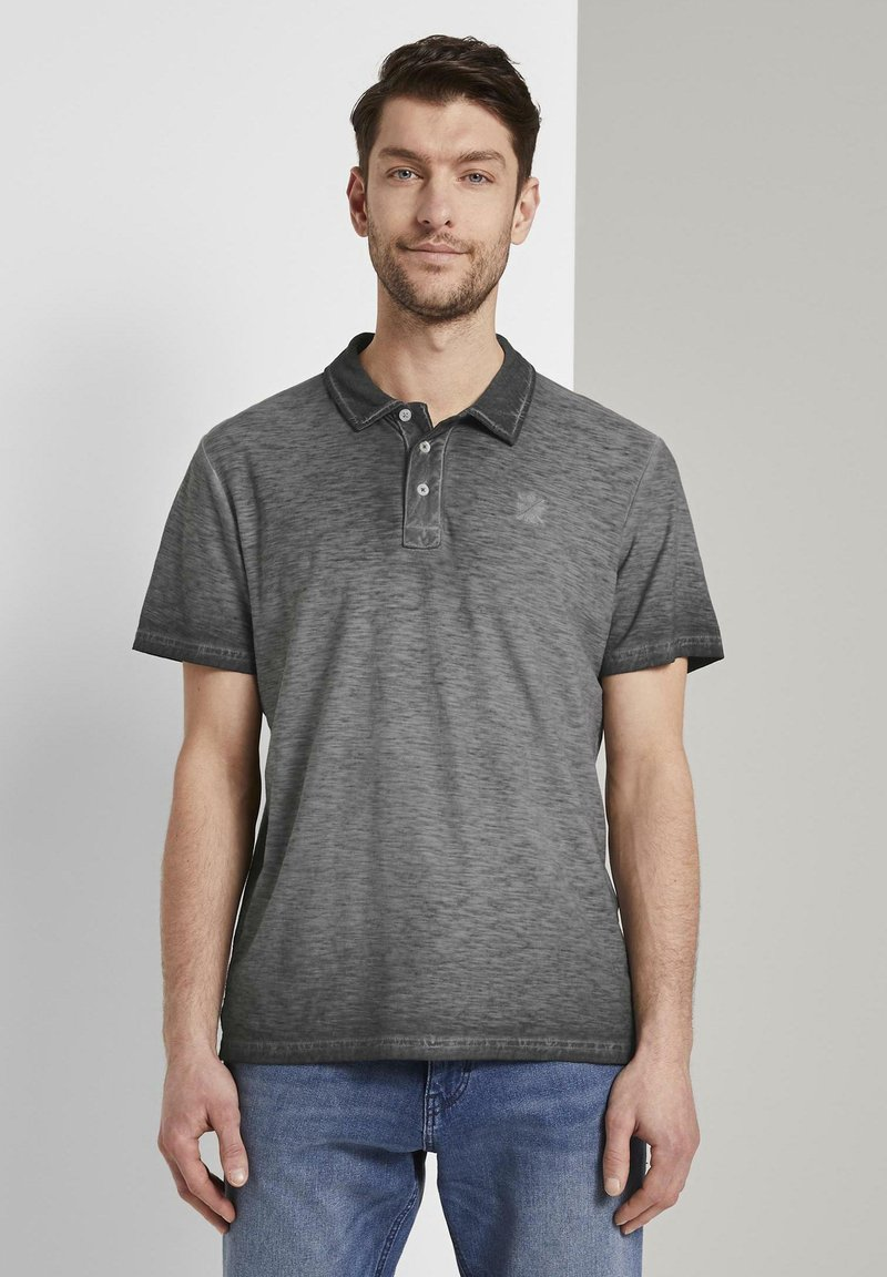 TOM TAILOR - Polo shirt - phanton dark grey