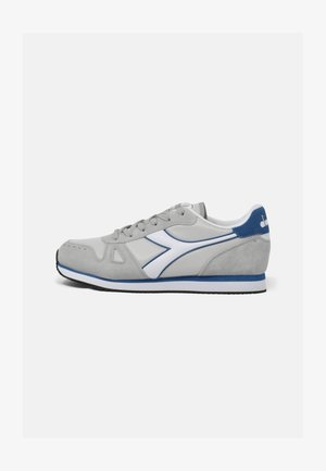 SIMPLE RUN  - Neutral running shoes - grey violet-white