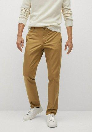 DUBLIN - Chino kalhoty - braun