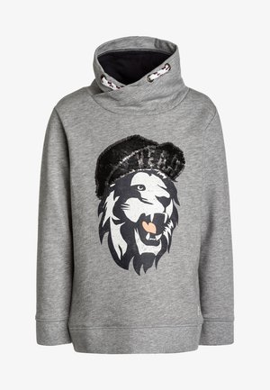 Sweater - drizzle melange/gray
