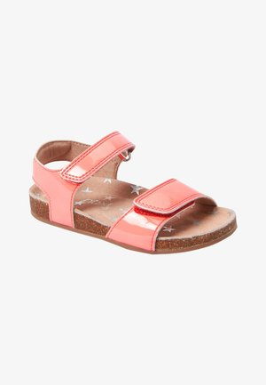 TOUCH FASTENING  - Sandály - neon pink
