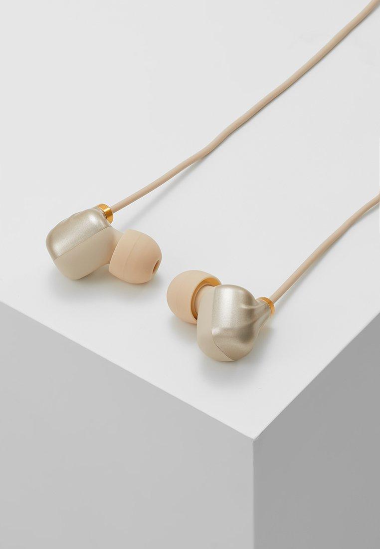 Cheap Outlet Happy Plugs EAR PIECE II - Headphones - matte gold-coloured | women's accessories 2020 ocWTh