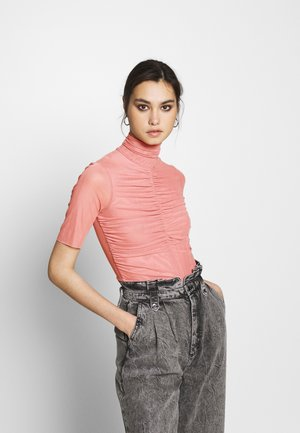 THE RUCHED - T-shirts med print - blush