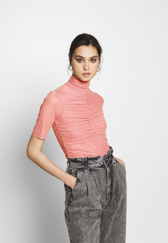 THE RUCHED - Printtipaita - blush