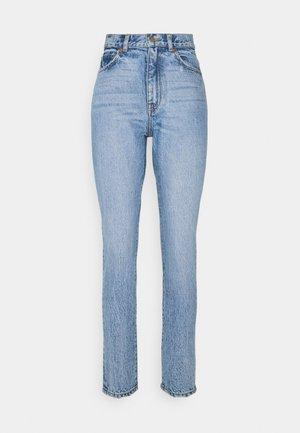 NORA - Straight leg jeans - blue jay worn hem