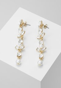 ONLY - ONLLONGPEARL EARRING - Náušnice - gold-coloured - 0