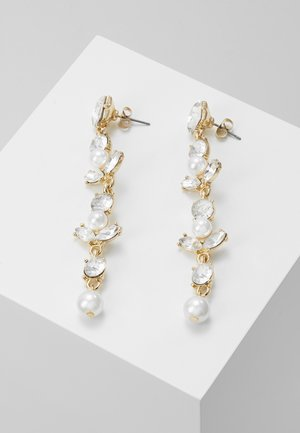 ONLLONGPEARL EARRING - Oorbellen - gold-coloured