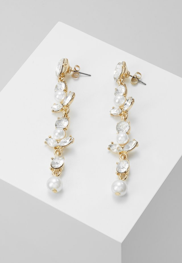ONLLONGPEARL EARRING - Boucles d'oreilles - gold-coloured