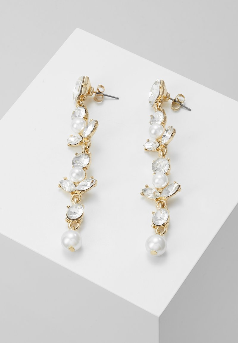 ONLY - ONLLONGPEARL EARRING - Náušnice - gold-coloured
