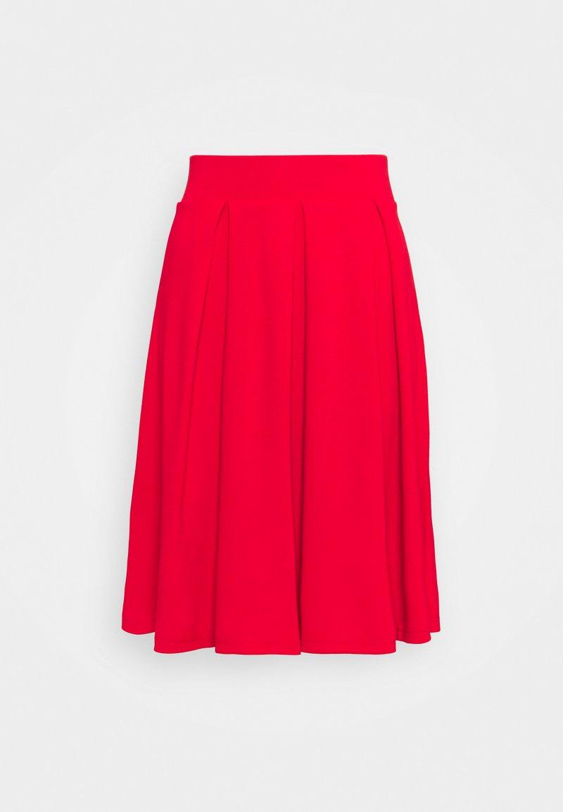 Anna Field - Áčková sukně - red