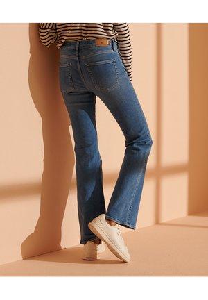 Flared Jeans - mid indigo