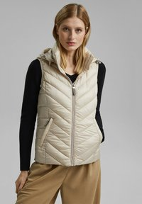 Esprit - MIT 3M™ THINSULATE™ - Waistcoat - cream beige - 0