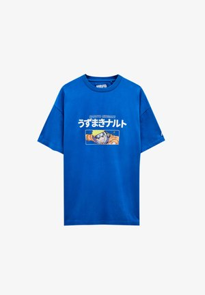 NARUTO - T-shirt con stampa - light blue