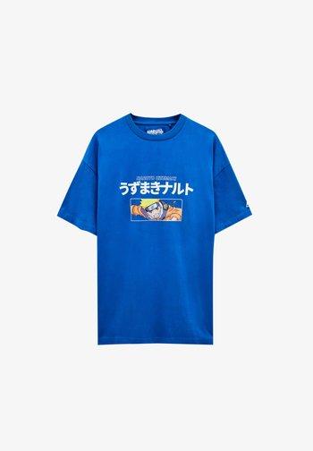 NARUTO - T-shirt imprimé - light blue