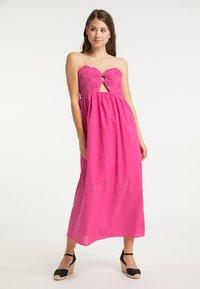 IZIA - Długa sukienka - pink - 0