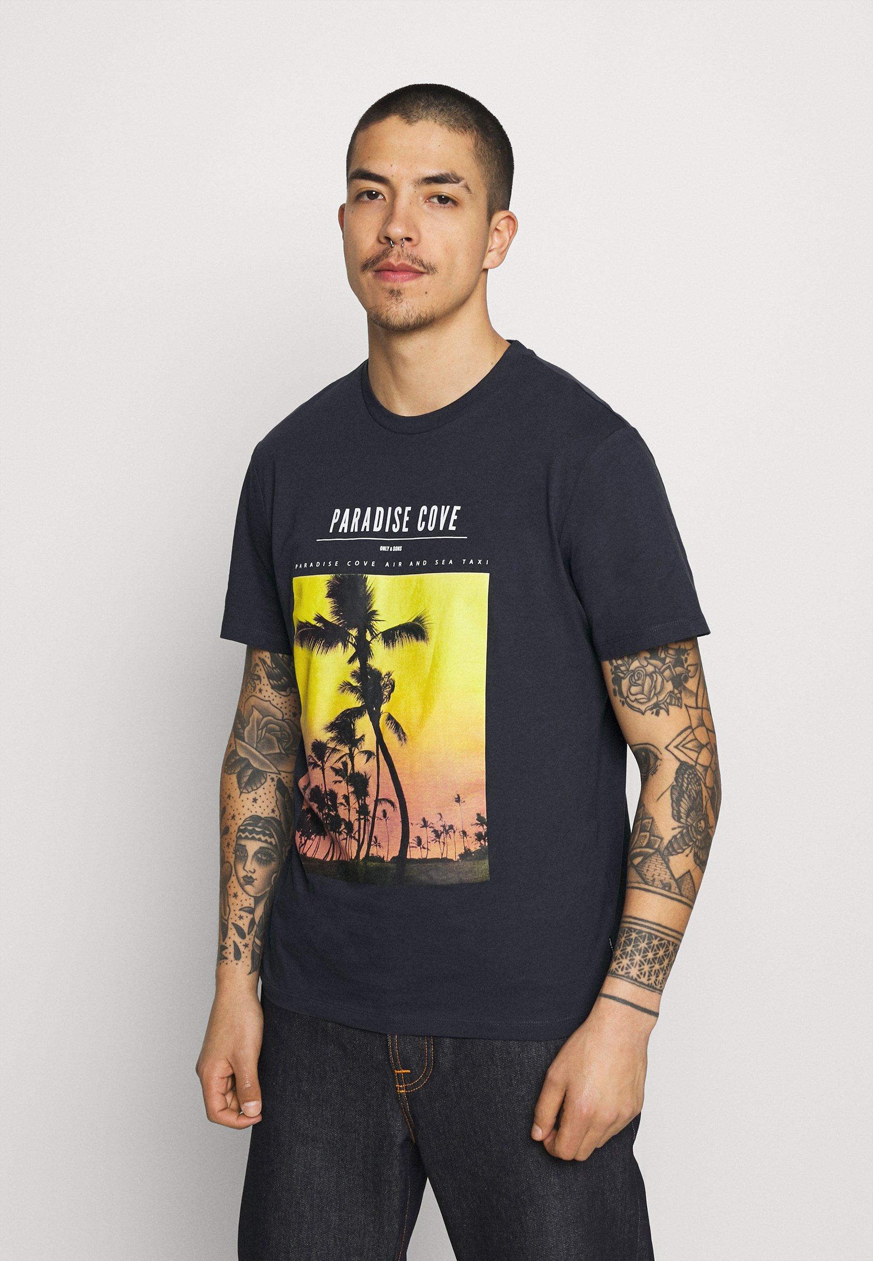 Herren ONSPASMAL LIFE TEE - T-Shirt print