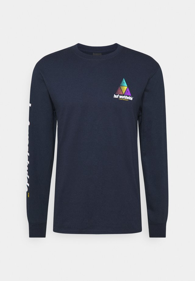 PRISM LOGO SPORTIF - Topper langermet - french navy