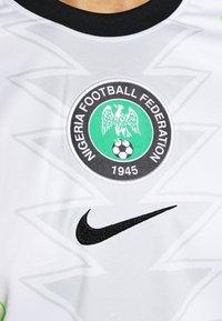 Nike Performance - NFF NIGERIA NIGERIA HOME - Landslagströjor - white/black - 5