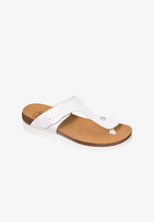 BOA VISTA UP - T-bar sandals - weiß