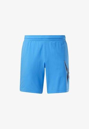 WORKOUT READY SHORTS - Short de sport - blue