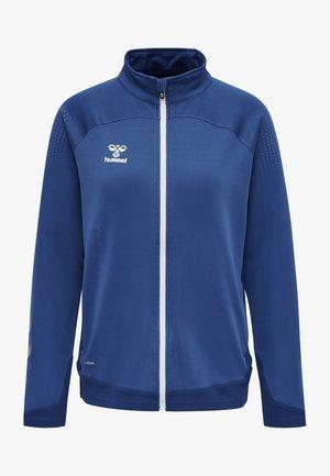 HML LEAD  - Zip-up sweatshirt - true blue
