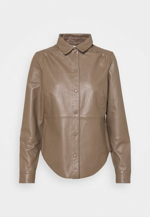 OBJGITTE - Button-down blouse - fossil