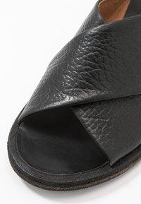 Felmini - GRACE - Sandals - ingranato black - 2