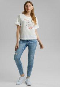 edc by Esprit - Print T-shirt - off white - 4