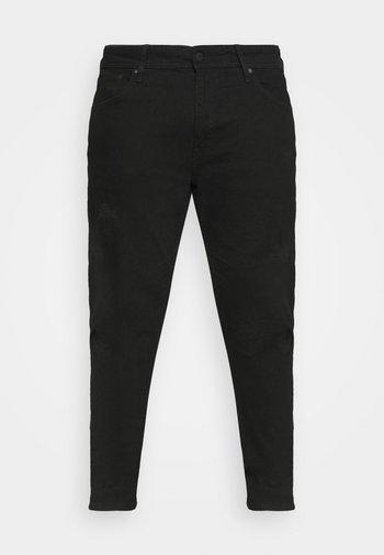 JJILIAM JJORIGINAL - Trousers - black denim