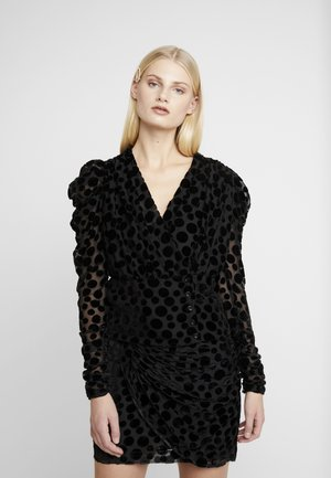 CATJA BLOUSE - Bluser - black