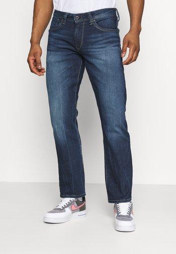 KINGSTON ZIP - Straight leg jeans - denim