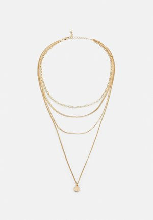 PCULLA COMBI NECKLACE D2D KEY - Halskæder - gold-coloured