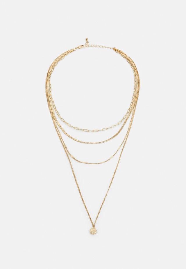 PCULLA COMBI NECKLACE D2D KEY - Collier - gold-coloured