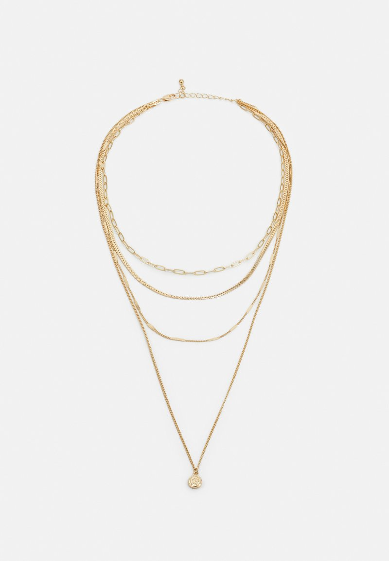Pieces - PCULLA COMBI NECKLACE D2D KEY - Necklace - gold-coloured