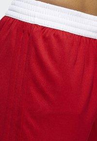 adidas Performance - SPEED REVERSIBLE SHORTS - Urheilushortsit - red - 5