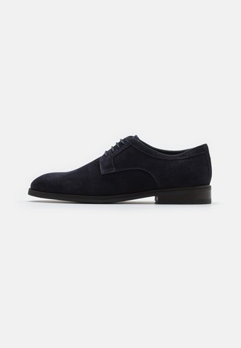 VELLUTO KLEITOS LACE UP - Lace-ups - darkblue