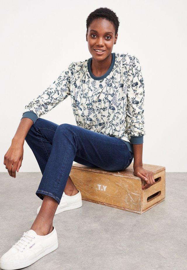 Sweatshirt - blau mehrfarbig