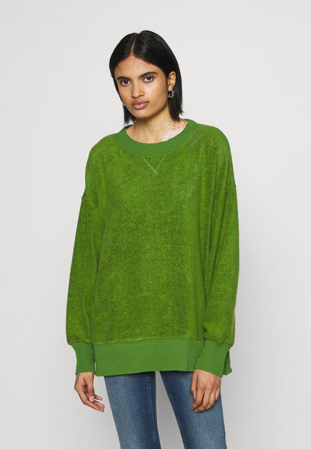 GARDEN CREW - Fleecetröja - green