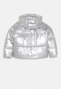 Tommy Hilfiger - METALLIC PUFFER JACKET - Zimní bunda - grey - 1