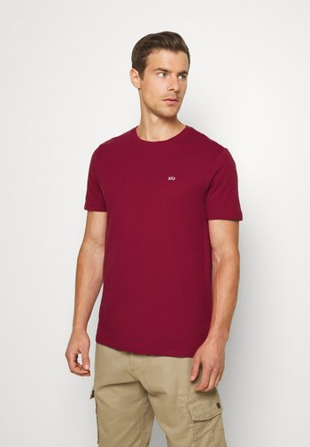 CREW 2 PACK - T-shirt basic - white/red