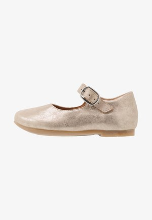FIONAS BUCKLE NARROW FIT - Bailarinas con hebilla - gold