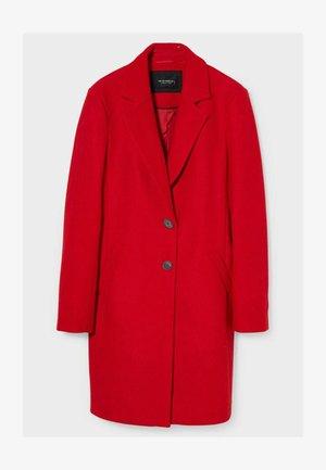 Płaszcz zimowy - red
