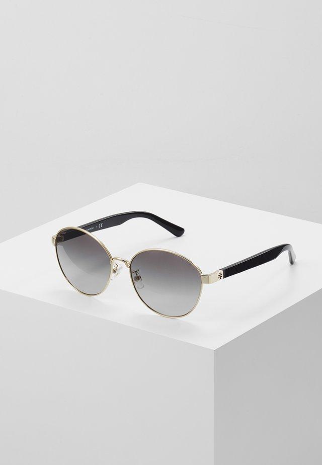 Sluneční brýle - shiny light gold-coloured