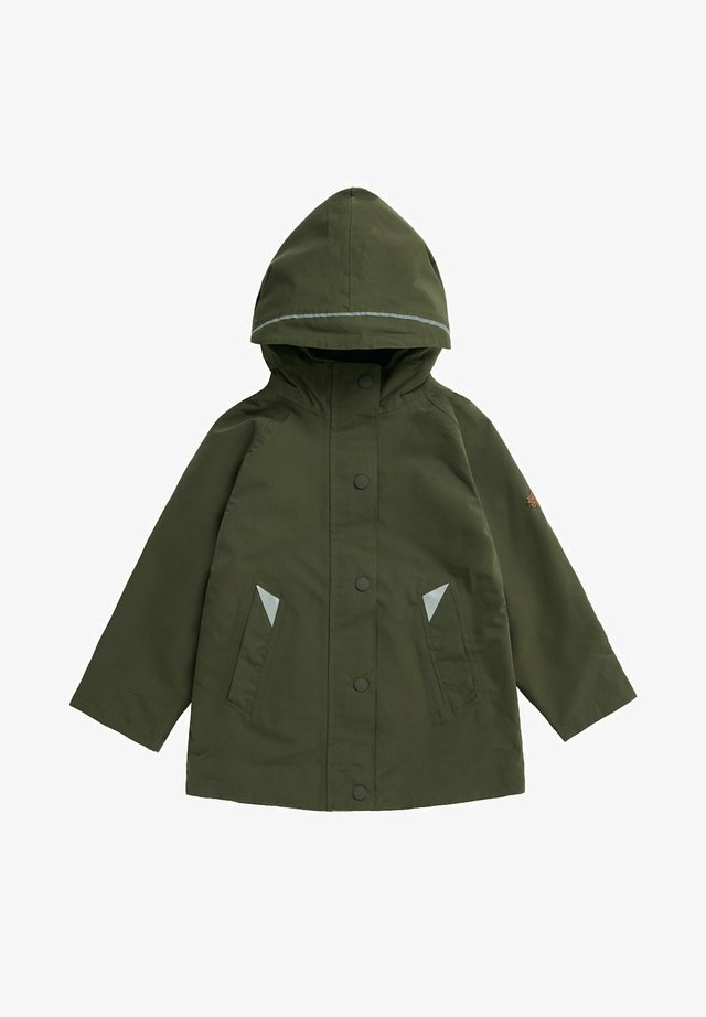 COASTAL WOODLAND - Waterproof jacket - olive