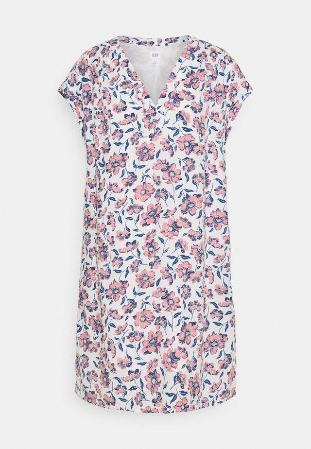 DRESS - Sukienka letnia - white floral print