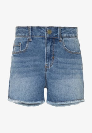 NKFRANDI  - Shorts vaqueros - light blue denim