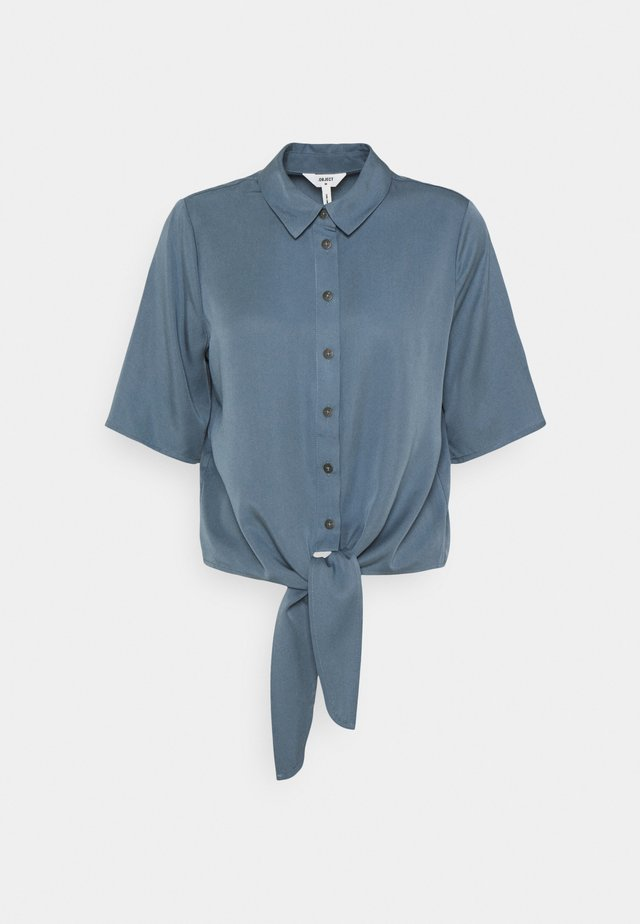 OBJTILDA KARLA 2/4 - Button-down blouse - blue mirage